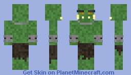 Medieval Orc Minecraft Skin