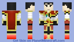 Zhou Yu - Wu Dynasty (Dynasty Warriors Skin Series) Minecraft Skin