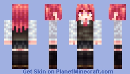 school uniform Minecraft Skin