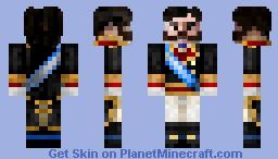 King Alfonso XII Minecraft Skin