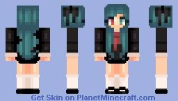~KV~ Anime school girl *Updated* Minecraft Skin
