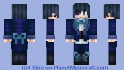 [Black Butler] Ciel Phantomhive Minecraft Skin