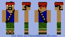 Boom Beach Heavy Minecraft Skin