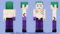 Joker (Suicide Squad) (May be subjected to change) Minecraft Skin