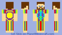 Hippie Minecraft Skin