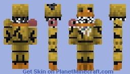 Nightmare Chica ~ =3 Minecraft Skin