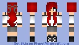 Scarlett Minecraft Skin