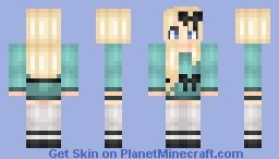 Skylar -Persona- -Not in Angel Form- Minecraft Skin