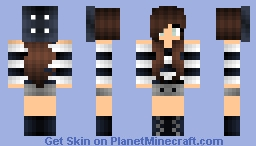 French Girl Minecraft Skin
