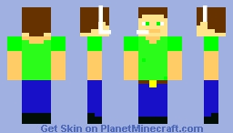 Everyday Gamer Minecraft Skin