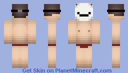 Cryaotic (Almost Naked) Minecraft Skin