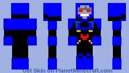 |Ω| Darkseid (DC) (New 52) (Boss Battle Contest |Ω| Minecraft Skin