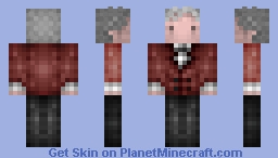 3rd / Doctor Who, Jon Pertwee, 1970 - 74 Minecraft Skin