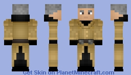 Fallout: Colonel Autumn Minecraft Skin