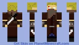 The Sword Art Online tmanoftheundead Minecraft Skin