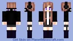⁂ ⓎƲƱƙI ⁂ ~ EnderGirl ~ = Mob Series = Minecraft Skin