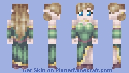 RPG Skin: Elven Noble Minecraft Skin