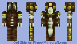 Destiny Inspired Hive Priestess // Boss Battle Minecraft Skin