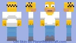 Homer Simpson Minecraft