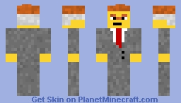 Lord Business - Boss Battle Contest Minecraft Skin