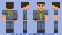 Vault 13 Dweller ( 3D Pip-boy ) Minecraft Skin