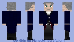 Doctor Who - 12th Doctor - Peter Capaldi Minecraft Skin