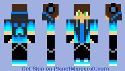 Gaming Teen Minecraft Skin