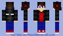 Herobrine Gamer Guy Minecraft Skin