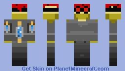 Steampunk skin no.1 Minecraft Skin