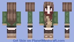 first skin wowomgwhatislife Minecraft Skin