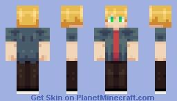 I tried making a skin in 10 minutes Minecraft Skin