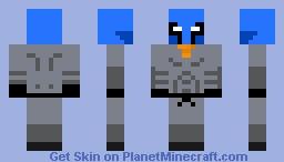 Azure Wasabi Minecraft Skin