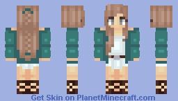 Cerulean Minecraft Skin