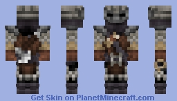 The Bounter Hunter ( Darkest Dungeon ) Minecraft Skin
