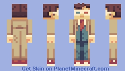 David Tennant - Tenth Doctor Minecraft