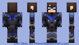Nightwing Arkham Knight Minecraft