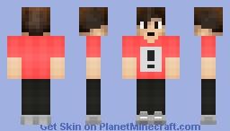 My personal(soon) Minecraft Skin