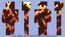 Fire Elemental - [Boss Battle Skin Contest] Minecraft