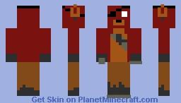 Foxy Minecraft Skin