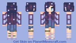 ➳ᴍɪɴᴛᴅᴏᴋɪs➳ Galaxy Series?? Minecraft Skin