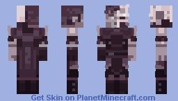 Glacian - Iceridden Wanderer Minecraft Skin