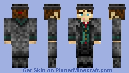 Jacob Frye Assassins Creed Syndicate w/Top Hat Minecraft Skin