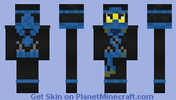 Ninjago (Possession) - Deepstone Jay Minecraft Skin
