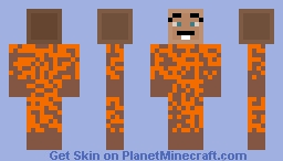 Mental Escapee Minecraft Skin