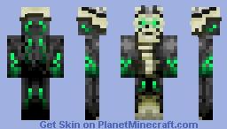 Krogonax, Skeletal Tyrant- [Contest Entry] Minecraft Skin