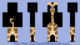 Giraffe that used to be white... Minecraft Skin