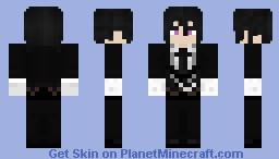 ♥Sebastian Michaelis♥ Minecraft Skin