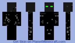 friendly enderman Minecraft Skin