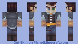 Handsome Jack (Contest) Minecraft Skin
