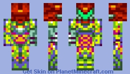 Varia Fusion Suit (Removable Suit) Minecraft Skin